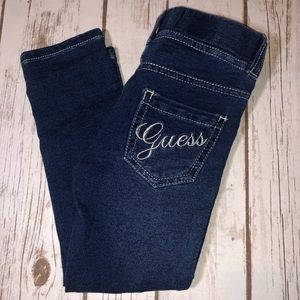 Guess jeggings girls size 3T. NWT